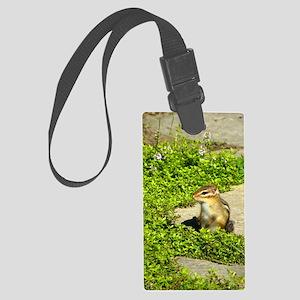 chipmunk kindlesleeve Large Luggage Tag