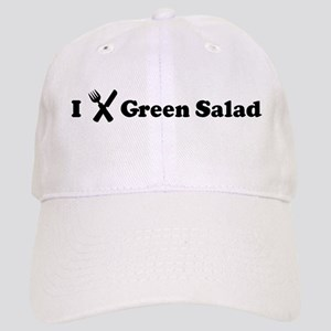 I Eat Green Salad Cap