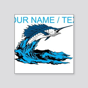 Custom Marlin Jumping Sticker