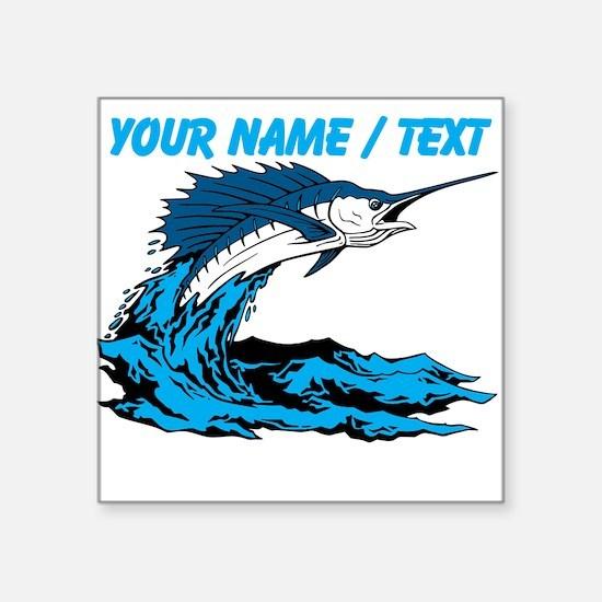 Custom Marlin Jumping Sticker