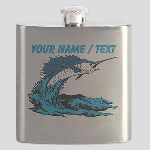 Custom Marlin Jumping Flask