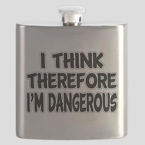 I'm Dangerous Flask