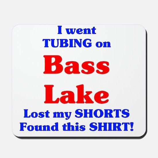 Bass Lake Tubing Mousepad