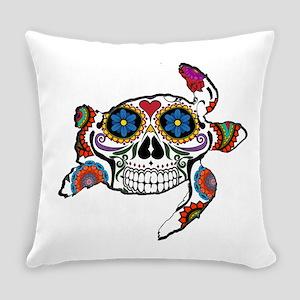SUGAR TURTLE Everyday Pillow