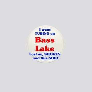 Bass Lake Tubing Mini Button