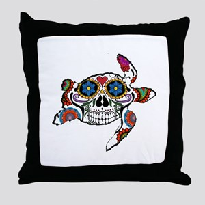 SUGAR TURTLE Throw Pillow