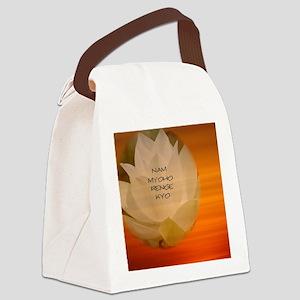 SGI Buddhist NMRK Canvas Lunch Bag