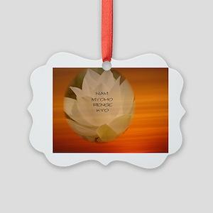 SGI Buddhist NMRK Picture Ornament