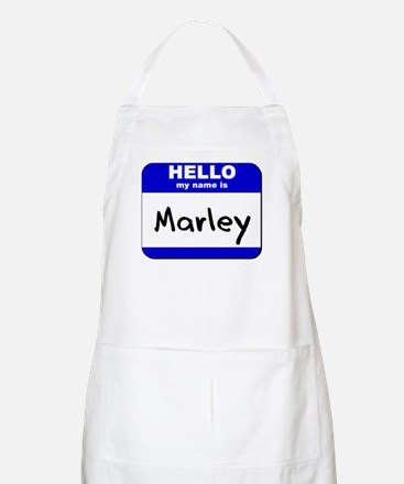 hello my name is marley  BBQ Apron