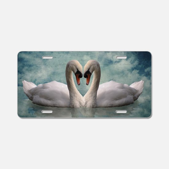 The Lovers Aluminum License Plate