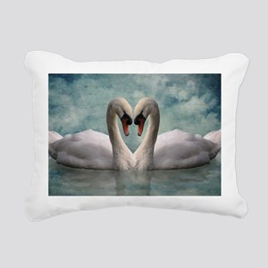 The Lovers Rectangular Canvas Pillow