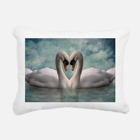 The Lovers Rectangular Canvas Pillow