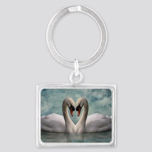 The Lovers Landscape Keychain
