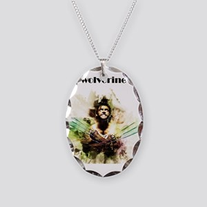 wolverine Necklace Oval Charm