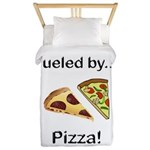 Fueled by Pizza Twin Duvet