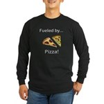 Fueled by Pizza Long Sleeve Dark T-Shirt