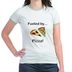 Fueled by Pizza Jr. Ringer T-Shirt