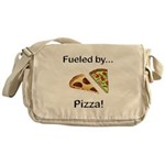 Fueled by Pizza Messenger Bag