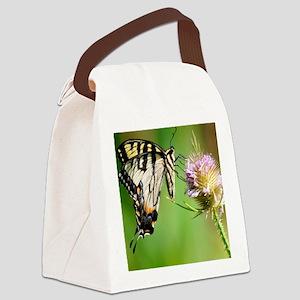 Butterfly Beauty Queen Canvas Lunch Bag