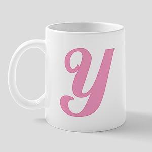 Y Initial Mug