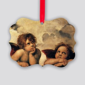 Angels by Raphael, Vintage Renais Picture Ornament