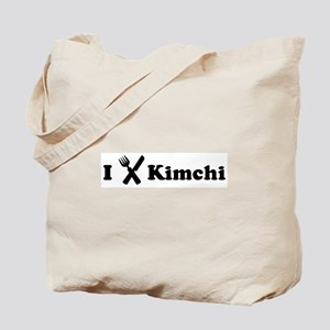 I Eat Kimchi Tote Bag