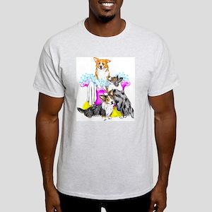 Corgi Tub full Light T-Shirt