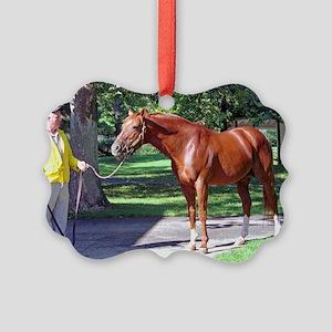 SECRETARIAT Picture Ornament