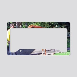 SECRETARIAT License Plate Holder