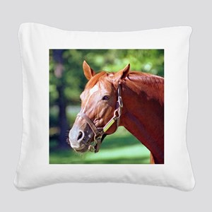 SECRETARIAT Square Canvas Pillow