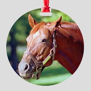 SECRETARIAT Round Ornament