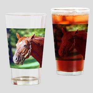 SECRETARIAT Drinking Glass