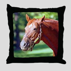 SECRETARIAT Throw Pillow