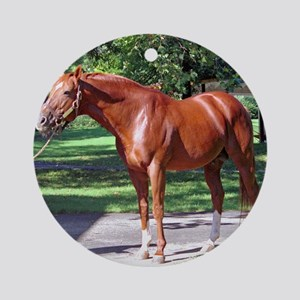 SECRETARIAT Round Ornament