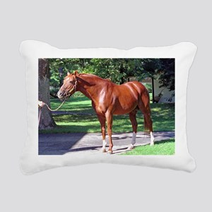 SECRETARIAT Rectangular Canvas Pillow