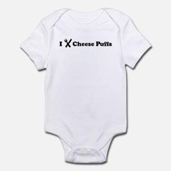 I Eat Cheese Puffs Infant Bodysuit