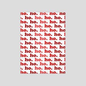 'Ho Ho Ho' 5'x7'Area Rug