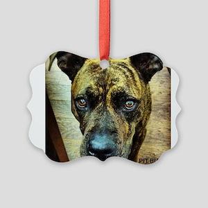 pitbull Ornament