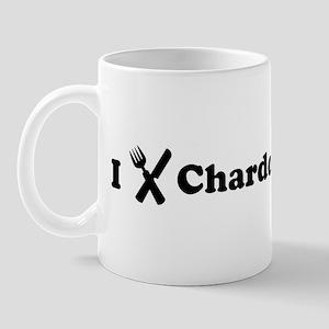 I Eat Chardonnay Mug