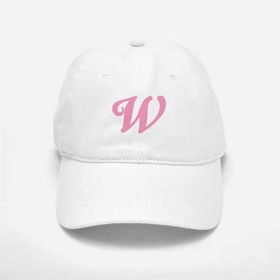 W Initial Baseball Baseball Cap