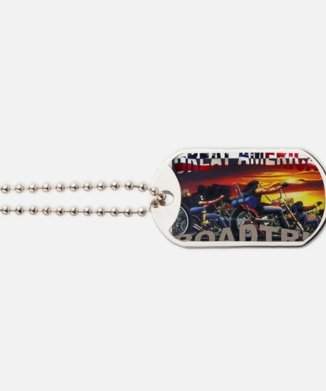 Great American Road Trip Dog Tags