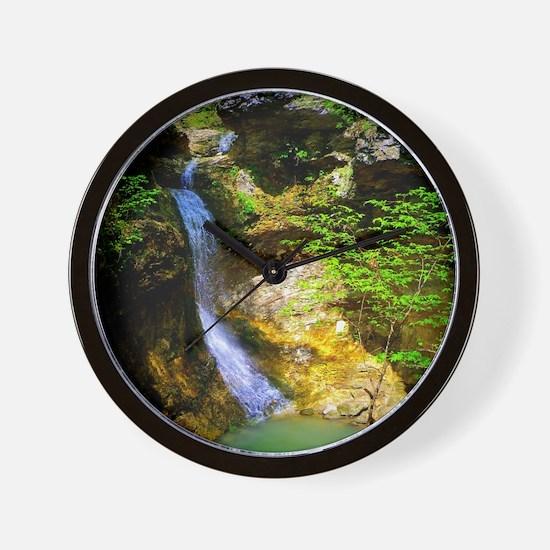 Eden Falls at Lost Valley Wall Clock