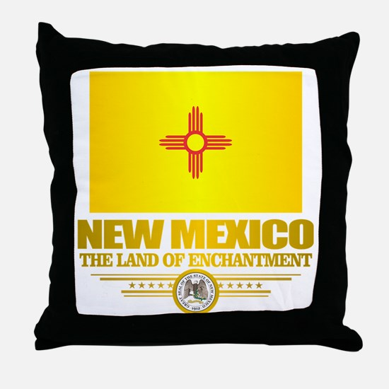 New Mexico Flag Throw Pillow
