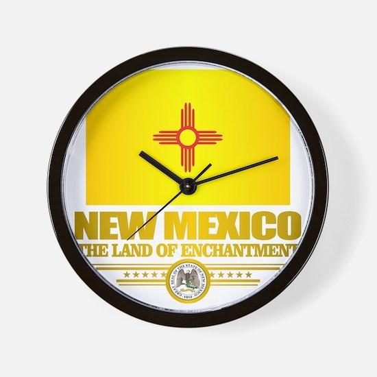New Mexico Flag Wall Clock