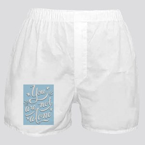 not-alone-BUT-LG Boxer Shorts