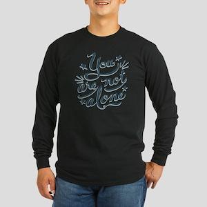 not-alone-LTT Long Sleeve Dark T-Shirt