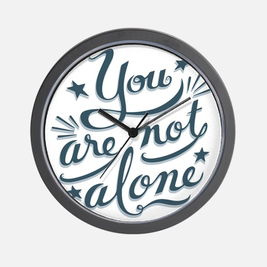 not-alone-LTT Wall Clock