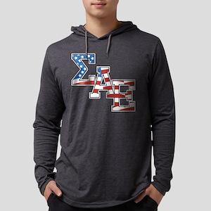 Sigma Alpha Epsilon Stars Mens Hooded Shirt