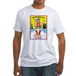 CRIME BUSTERS(American Cowboy) Fitted T-Shirt