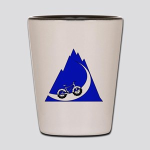 Fat Bike mountain Shot Glass